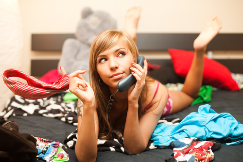 mess in the room. shutterstock
