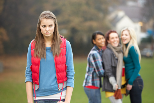 aggressiveness of girls. shutterstock
