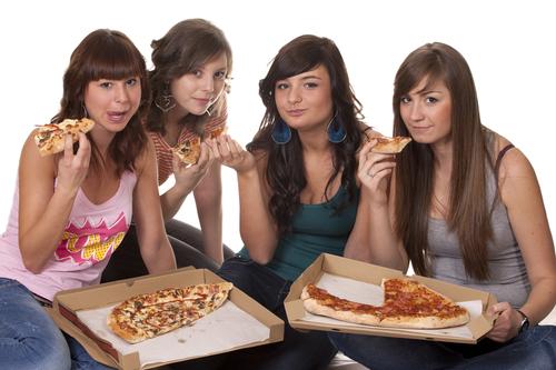obesity of teenagers. shutterstock