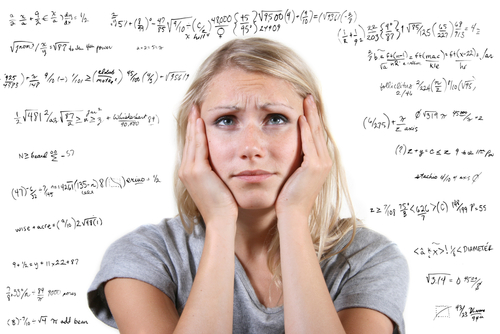 exam stress. shutterstock