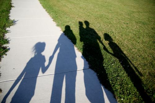 blindness in the family. shutterstock