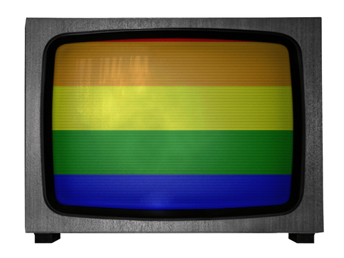 gay TV. shutterstock