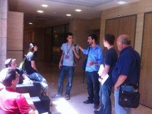 pupils in the knesset last week