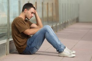 depressed teenager. shutterstock