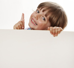 advertisement of kids. shutterstock