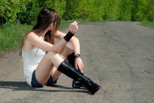 prostitution of pupils. shutterstock