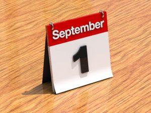 september 1. shutterstock
