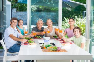 holiday dinner. shutterstock