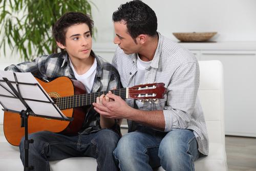 young guitarists. shutterstock