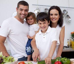healthy family. shutterstock