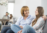 parent and teenager. shutterstock