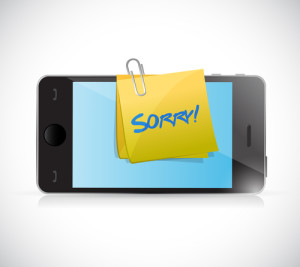 virtual apology. shutterstock