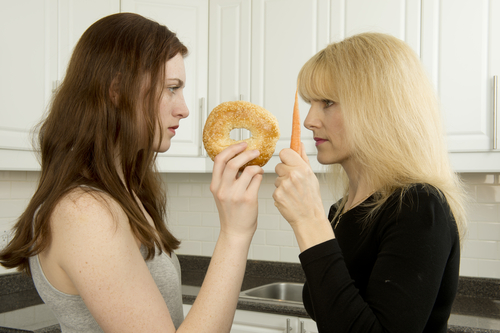 eating disorder. shutterstock