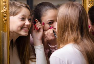 makeup for girls. shutterstock