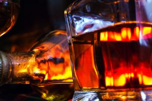 alcohol & bofire. shutterstock