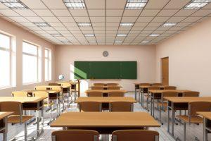 empty class. shutterstock