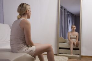 woman and mirror.shutterstock
