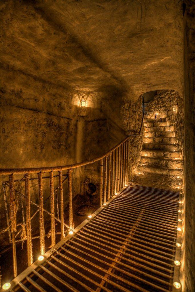 המנהרות התת קרקעיות. צילום: דייב בנדר