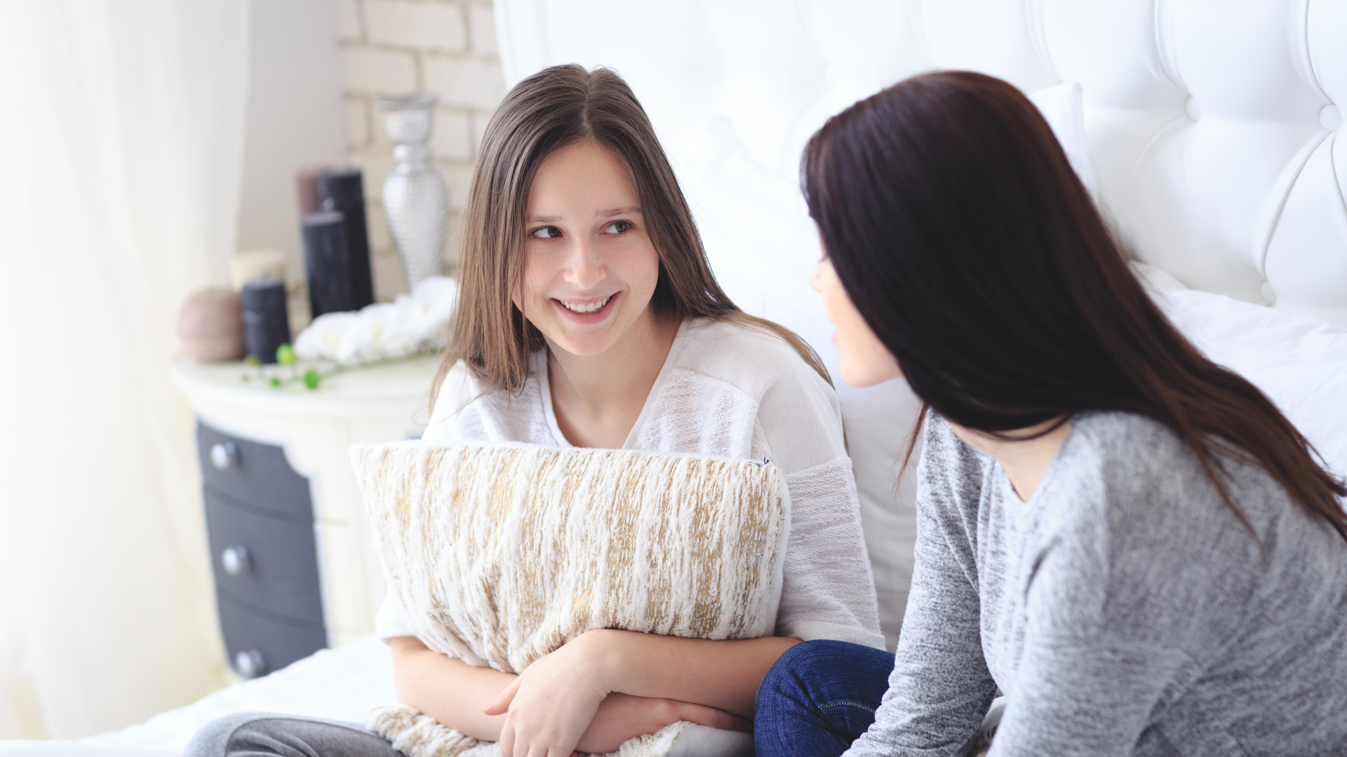 אמא ובת בשיחה