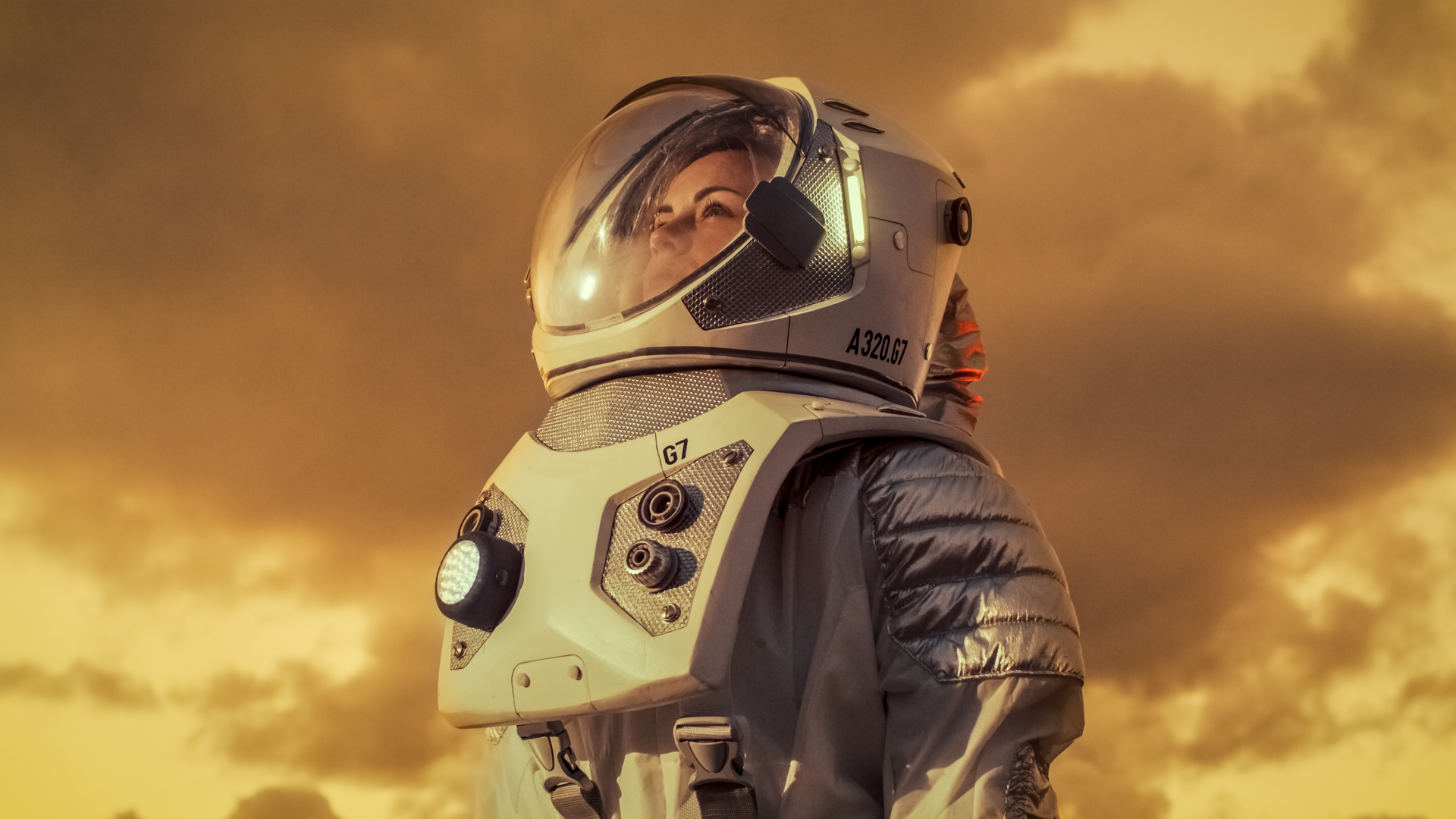 אסטרונאוטית